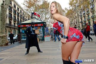 Ana Monte Real en un anal con Nick Moreno, foto 1
