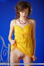 Delgada jovencita Kitana A Demida posando desnuda, foto 2