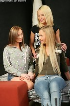 Fotos de Marisa, Britney Spring y Anna Safina masturbándose - Parte II, foto 1