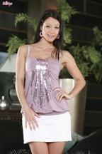 Melissa Mendiny chica del mes de enero de Twistys, foto 1