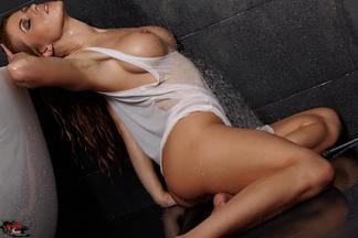 Sexi Randy Moore Miss camiseta mojada, foto 13