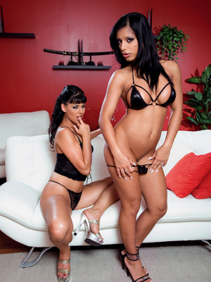 Kyra Black y Simony Diamond