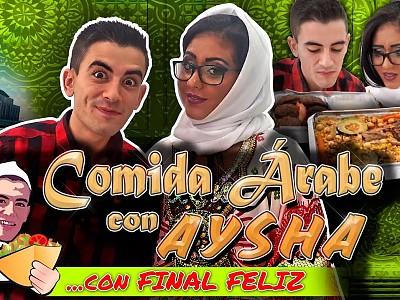 Aysha y Jordi el niño polla