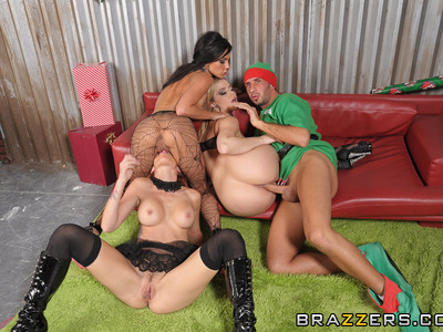 Kirsten Price,Monique Alexander y Alexis Texas y Keiran Lee