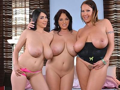 Luna Amor,Laura Orsolya y Joanna Bliss
