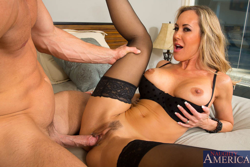 image Becca blossoms stepmom sucking and fucking cock