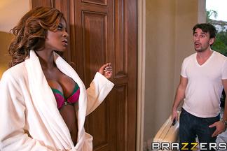 Manuel masajea a Jasmine Webb y Keiran Lee se la termina follando, foto 6