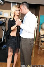 Barbi Sinclair y Keiran Lee