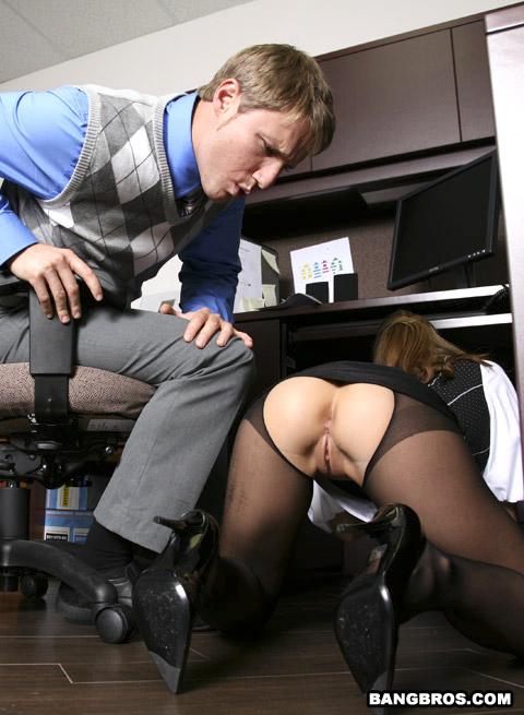 Порно На Работе Под Столом